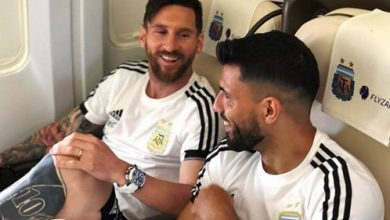Photo of El Kun Agüero y una divertida conversación con Lionel Messi en Twitch
