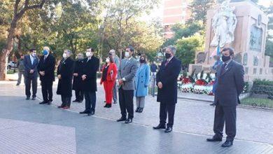 Photo of Zamora encabezó el acto por el 25 de Mayo en Plaza Libertad