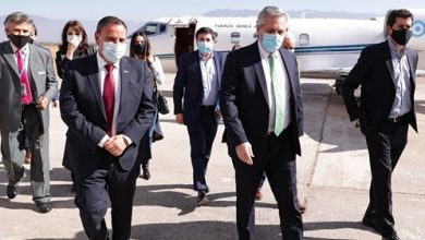 Photo of La noticia de que Insaurralde tiene coronavirus obligó a Alberto Fernández a suspender su viaje a Catamarca